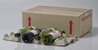 Packing cartons for wine storage